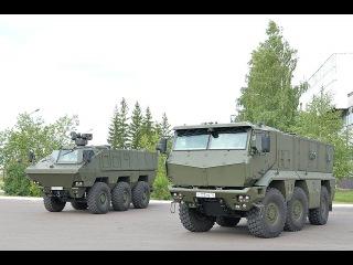 КАМАЗ 63969 БТР или бронемашина России обзор, Военная техника России будущего
