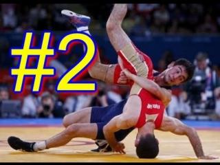 Греко-римская борьба 2 Интересные моменты [Wrestling Greco-Roman] sport