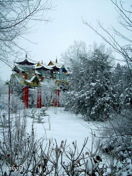 Картинки элиста зимой