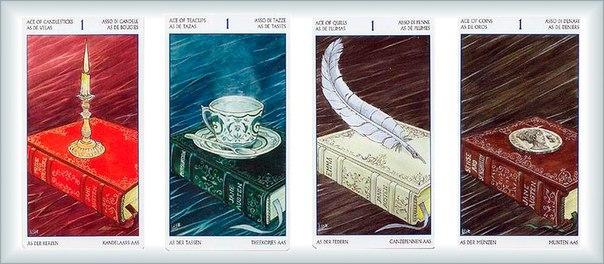 Все в масть: символы стихий в классических и современных колодах Таро AjVW2paQhYU