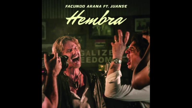 Ya salió Hembra de @facundoaranatagle ft @solojuanse primer corte del nuevo disco de Facu lo pueden