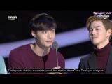 EXO - 151202 2015 Mnet Asian Music Awards - Winning Best Male Group Award - [ENG SUB]