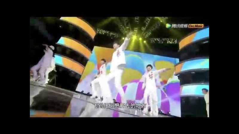 【TFBOYS两周年】《大梦想家》新歌首秀 一起追逐梦想 Big Dreamer Concert Live