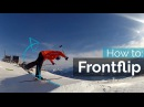 HOW TO FRONTFLIP ON SKIS