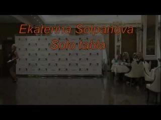Ekaterina Solpanova,tabla solo.