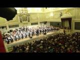 Оркестр баянистов им.П.И.Смирнова с участием младшей группы оркестра.