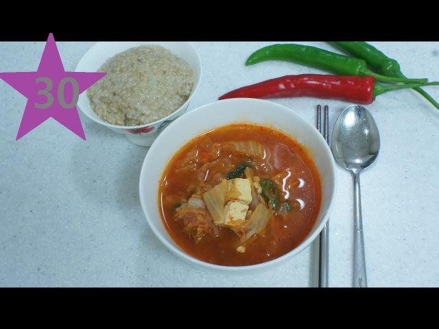 Кимчичжигге / Kimchi Stew Soup / 김치찌개