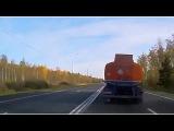 Huge Explosion In Truck Crash on Ukrainian Highway