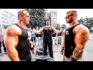 Romano Rengel VS Thomas Gleeson - STRENGTH WARS 2k16 #10