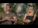 The Legend of Tarzan Interview - Margot Robbie Alexander Skarsgard