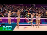 Russian Federation 5 Ribbons Group All Around Final European Games Baku 2015