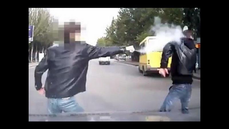 БЫДЛО на дорогах! Опасные быки, драки, конфликты, разборки на дорогах. Часть 12!