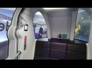 NEW Heathrow POD cars - full ride from London Heathrow Airports Terminal 5 to Business Car Park B