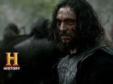 Vikings Athelstan Saves Ragnar in Battle (Season 2, Episode 2) History