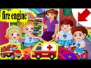Chị Bí Đỏ dạy Bé Na Học Tiếng Anh xe ô tô, xe cấp cứu, xe chữa cháy - Bé Học Tiếng Anh (Vehicles 2)