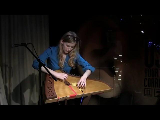 Гусли - Ольга Глазова - Лес в руках ветра (концерт в VinyllaSky, 14.01.16) / Gusli Olga Glazova