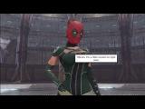 Deadpool Kisses Rogue Scene