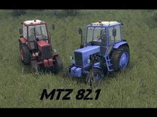 Spin Tires - Dev Demo - MTZ 82.1