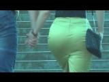 SEXy Lady in Mini-skirt !!! BIG ASS !!! ШИКарная Леди в короткой юбке и с большой попой Part Two !!!