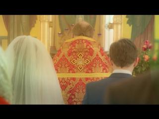 Моушн-дизайн венчания в церкви
