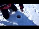 Налим 4500 зимняя рыбалка в Карелии. Fishing for Burbot in Karelia