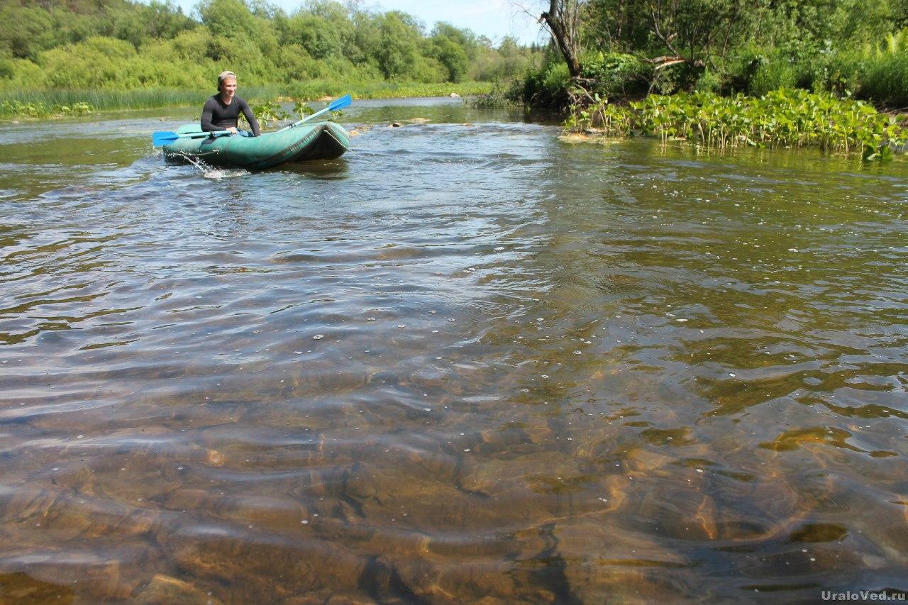 На реке Шишим