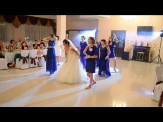 танец подружек невесты и невесты (Славик и Галя 10 сент 2016)