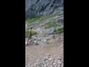Альпы опасно Гора Schellenberg Австрия