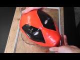 Как сделать маску Deadpool из полиморфуса (1 часть)