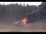 Су 24 Спасение второго пилота Опубликованы кадры спасения экипажа вертолета Ми 8 ...