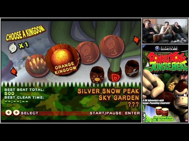 Обзор Nintendo GameCube. Part 5/7 (Donkey Kong Jungle Beat; Star Wars Rogue Leader)