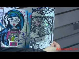Monster High Crafts Toy Fair!