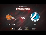 LG vs Echo Fox, map 1 mirage, SL i League StarSeries S2 American Qualifier