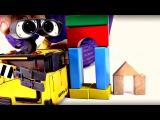 Wall-E construit une tour