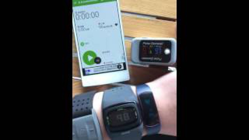 SH09 and MIO Scosche heart rate monitoring comparison 心率对比视频