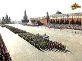 Москва  Красная площадь  9 мая 2006г  Военный парад