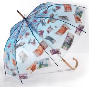 зонтик с купюрами