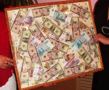прикольный денежный коллаж