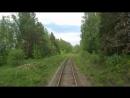 Западно-Уральская железная дорога, окрестности Бажуково.