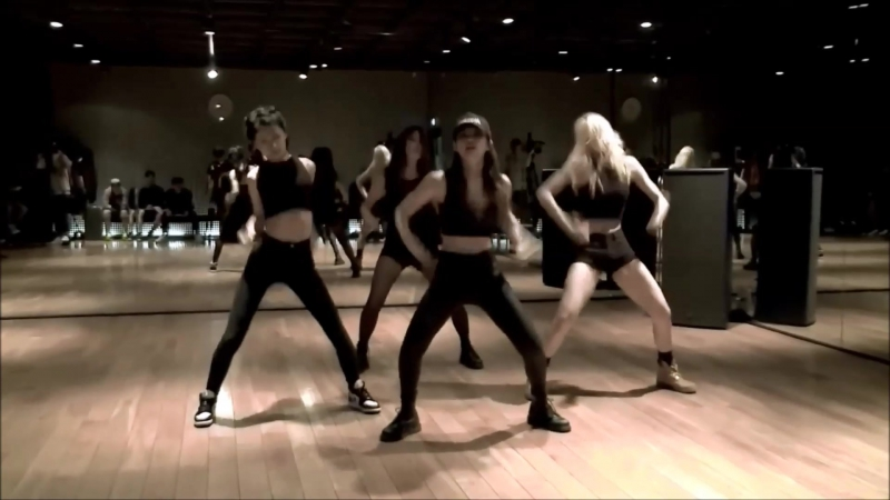 Black pink dance practice mirrored 0.7х