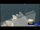 62-летний Джеки Чан дерется на крыше Сиднейского оперного театра