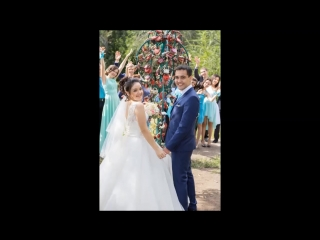 от друзей на годовщину свадьбы Рината и Ляйсан!!!