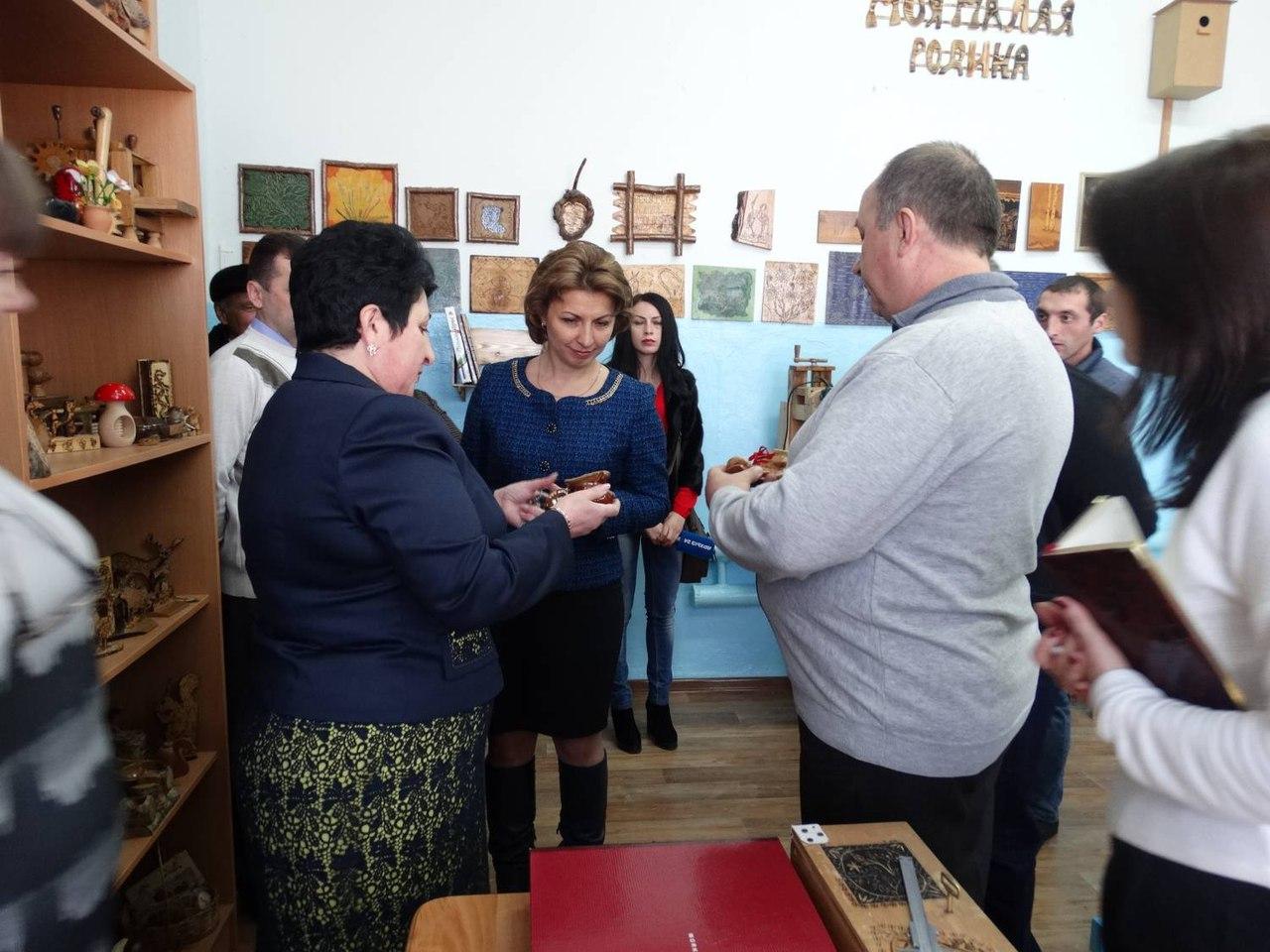 Зеленчукский район посетила Министр образования и науки КЧР