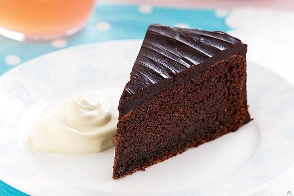 Фото рецепт шоколадный пирог без муки