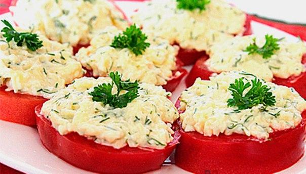 закуски из помидоров рецепты с фото