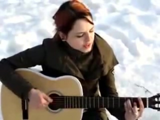 (Классная песня!!!!)девушка классно поёт!!!!