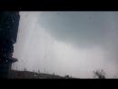 Два мощных удара молнии не в кадр и очень сильный ливень при грозе в Брянске 5/09/2К16 года. Осторожно маты. 18