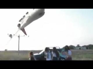 Самолет Жесть как она есть [18+]