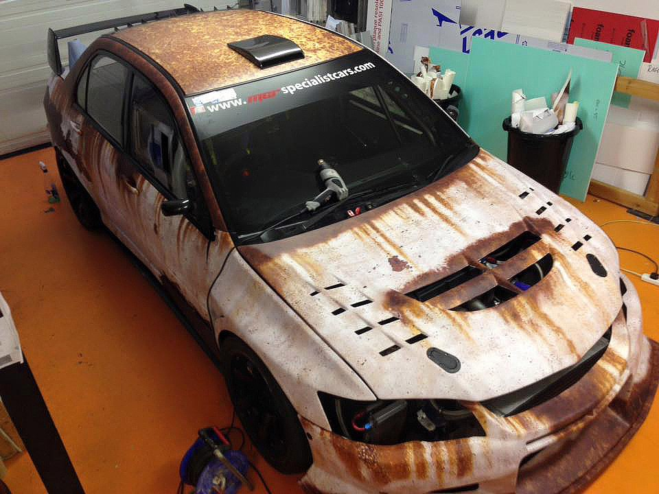 Pin By Tetyana Slyusar On Wraps Weird Cars Car Painting