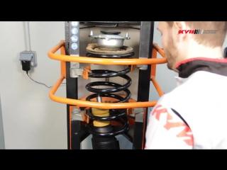 Замена передних амортизаторов KYB на FIAT Ducato; CITROEN Jumper _ Relay; PEUGEOT Boxer